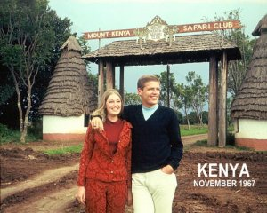 Steve and Dating Game girl in Kenya.